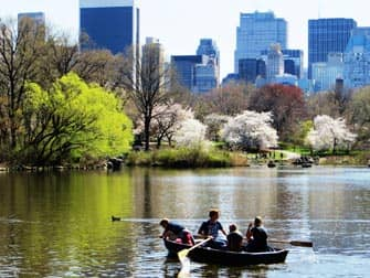 Parks in New York - Boote im Central Park