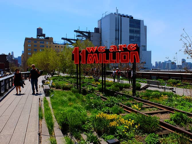 Parks in New York - High Line Park