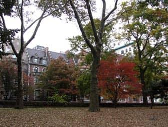 Parks in New York - Riverside Drive beim Riverside Park
