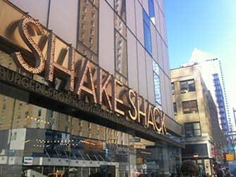 Shake Shack in New York
