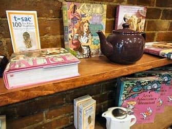 Teekanne bei Alices Tea Cup in New York
