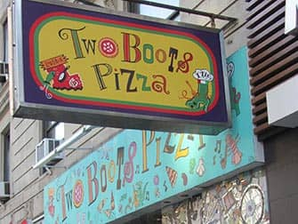 Two Boots Pizza in New York