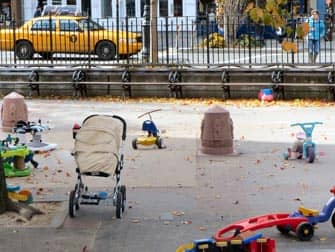 Bleeckerstreet Spielplatz in New York