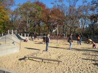 Central Park Spielplatz in New York