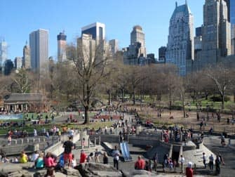 Der Central-Park Spielplatz in New York