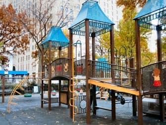 Der Madison Square Park Spielplatz in New York
