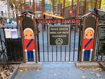 Madison Square Park Spielplatz in New York