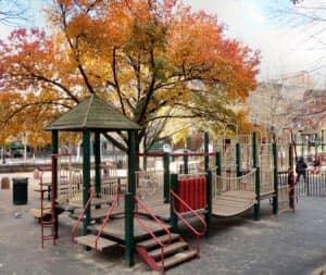 New York Bleeckerstreet Spielplatz