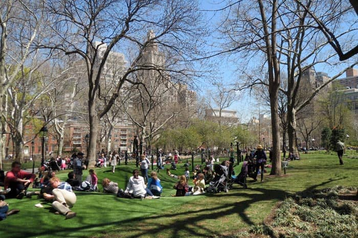 Washington Square Spielplatz New York