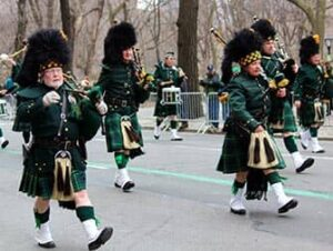 St Patricks in New York