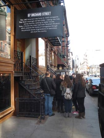 Tenement Museum Tour in New York