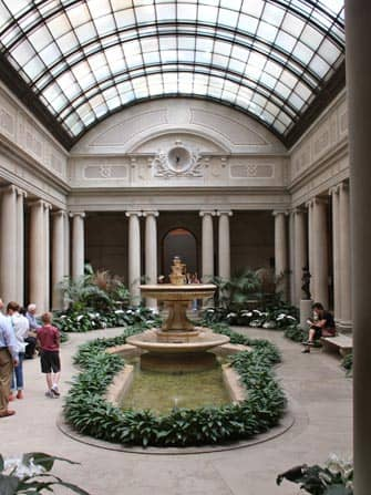 Courtyard Frick Museum New York