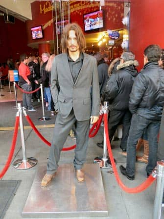 Johnny Depp Madame Tussauds in New York
