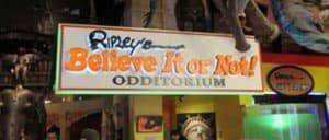 Ripley's Believe It or Not! in New York