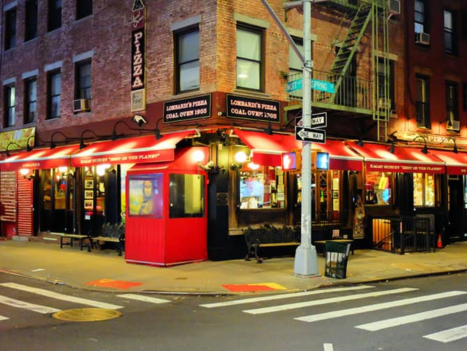 Die beste Pizza in New York - Lombardi's