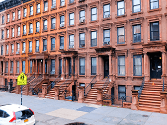 Hip-Hop-Tours in New York - Brownstones