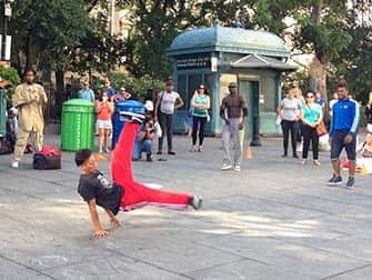 Hip Hop auf den Straßen von New York