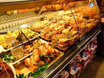 Mittagessen in New York - Sandwiches