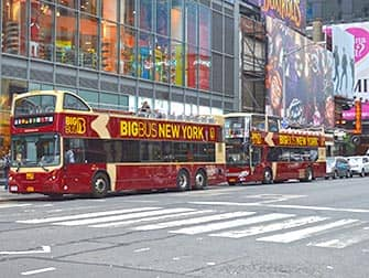 Big Bus in New York City