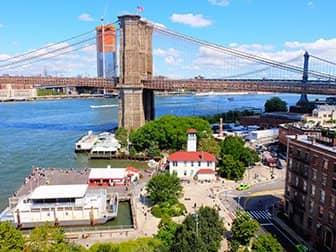 brooklyn bridge park in new york. Black Bedroom Furniture Sets. Home Design Ideas