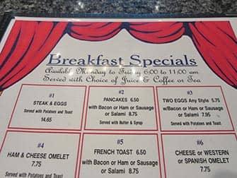 Frühstück in New York - Theatre Row