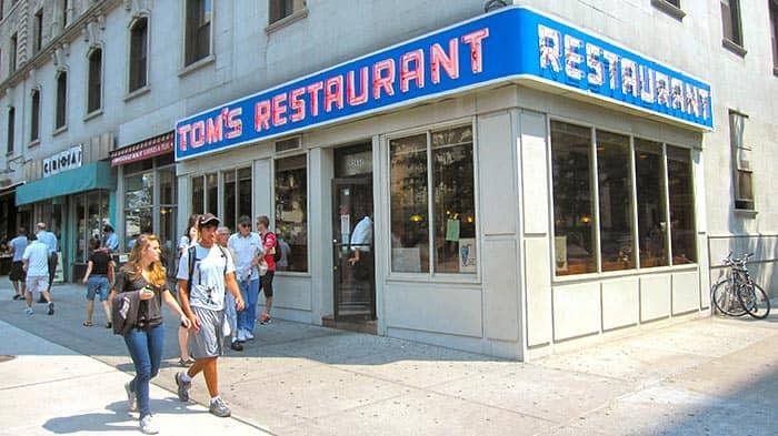 Frühstück in New York - Tom's Restaurant