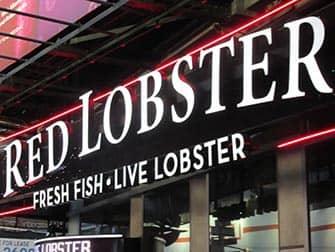Mit Kindern in NYC essen gehen - Red Lobster