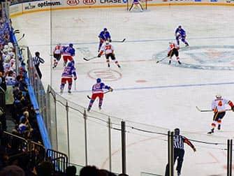 New York Rangers - Eishockey Spiel