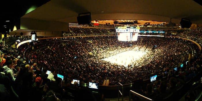 Madison Square Garden in NYC - Innenseite