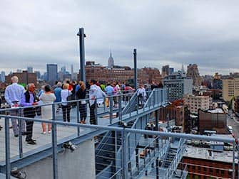 Whitney Museum in New York - Terrassen
