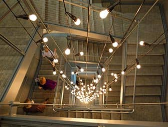 Whitney Museum in New York - Treppe