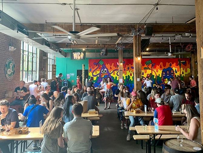 Brooklyn Brewery Biertour - Brooklyn Brewery