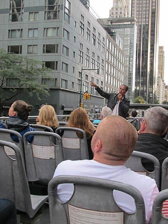 CitySights Hop on Hop off Bus in New York - Reiseleiter