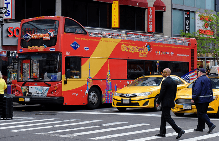 CitySightseeing Hop on Hop off Bus in New York - Bus
