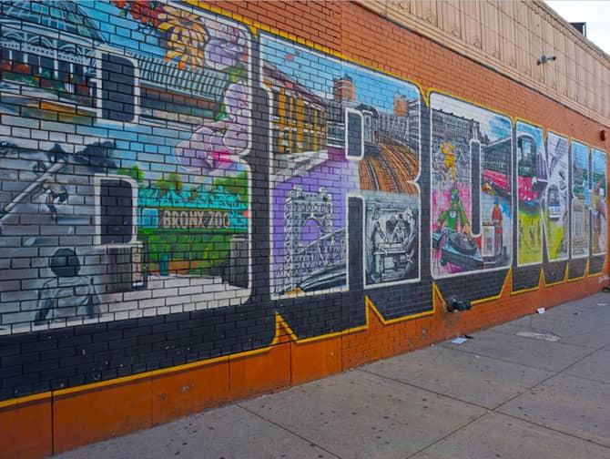 Tour durch Brooklyn, Queens und die Bronx - Bronx Street Art