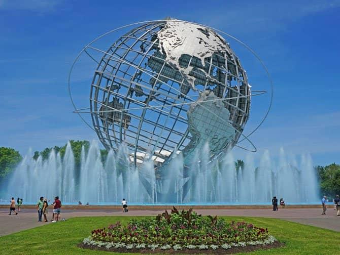 Tour durch Brooklyn, Queens und die Bronx - Unisphere