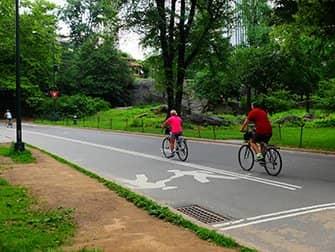 Fahrrad mieten in New York - Fahrradfahren im Central Park