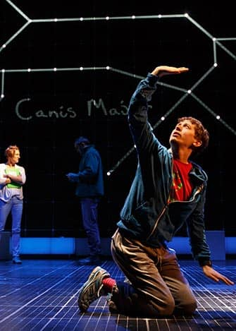 The Curious Incident of the Dog in the Night-Time am Broadway - Aufführung
