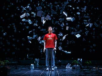 The Curious Incident of the Dog in the Night-Time am Broadway - Show in New York