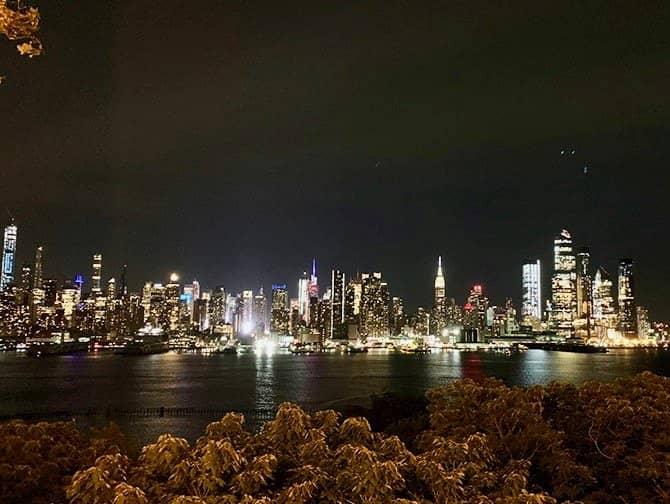 New York Abendtour - Skyline von New Jersey aus