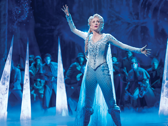 Frozen am Broadway Tickets - Elsa