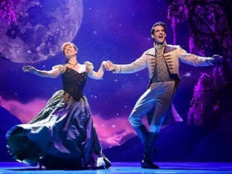 Frozen am Broadway Tickets - Anna und Hans
