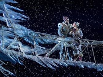 Frozen am Broadway Tickets - Anna und Kristoff