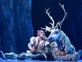 Frozen am Broadway Tickets - Kristoff und Sven