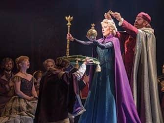 Frozen am Broadway Tickets - Krönung