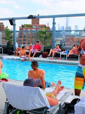 Schwimmen gehen in New York - Royalton