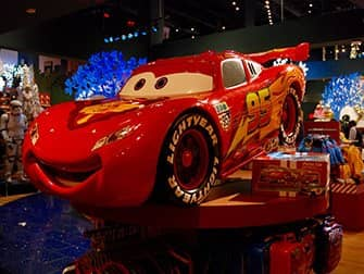 Disney Store am Times Square - Cars