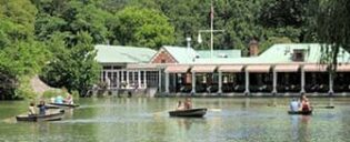 Ruderbootverleih im Central Park - Das Loeb Boathouse