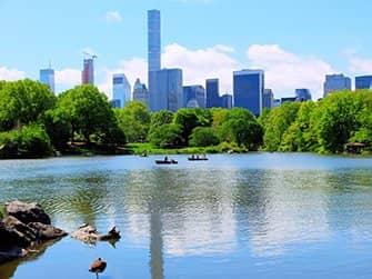 Ruderbootverleih im Central Park - Der See