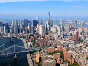 Helikopter-Rundflug ohne Türen in New York